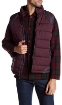 Robert Graham Stratford Tailored Fit Woven Puffer Vest