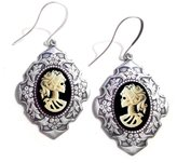 Couture By Lolita Lolita Skeleton Cameo Renaissance Earrings