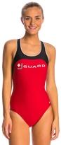 Nike Swim LifeLifeguard Power Back Tank One Piece Swimsuit 7385
