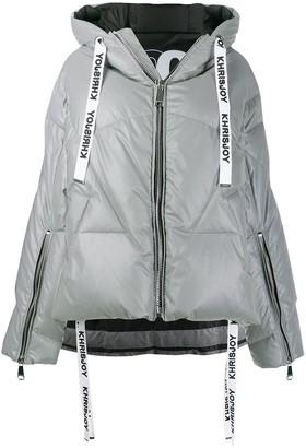 KHRISJOY Hooded Puffer Jacket