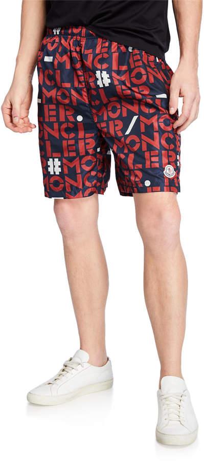 best service d04cf ba0fc Mens Navy Nylon Shorts - ShopStyle