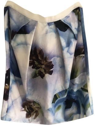 Strenesse Blue Silk Skirt for Women