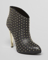 Platform Booties - Faustine Studded High Heel
