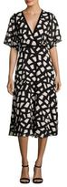 Yigal Azrouel Crochet Fit and Flare Dress