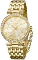 Ferré Milano Women's FM1L056M0061 Champagne Dial with Plated Band Watch.