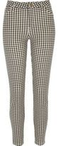 River Island Womens Black gingham Molly pant
