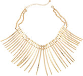 Lydell NYC Spike Statement Collar Necklace, Golden