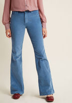 Wrangler Flawlessly Flared Corduroy Pants - 33 in 20W - Flare Pant by from ModCloth