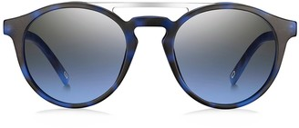 Marc Jacobs 60MM Round Browline Sunglasses