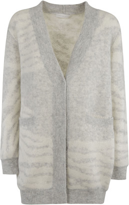 Fabiana Filippi V-neck Long Cardigan