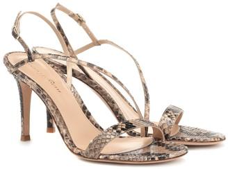 Gianvito Rossi Snakeskin sandals