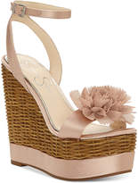 Jessica Simpson Pressa Wedge Sandals Women's Shoes