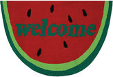 Couristan Watermelon Welcome Hooked Rectangle Rugs