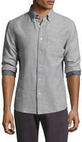 Jack Spade Palmer Heathered Double Face Houndstooth Sportshirt