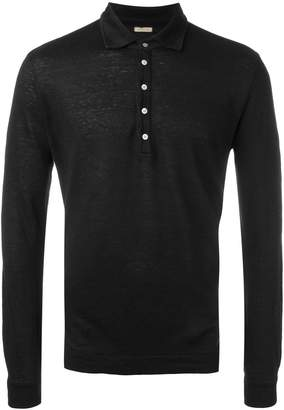 Massimo Alba long sleeved polo shirt