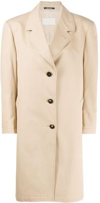 Maison Margiela Oversized Single-Breasted Coat