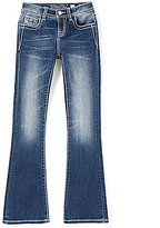 Miss Me Girls Big Girls 7-16 Embellished Pocket Flare Jeans