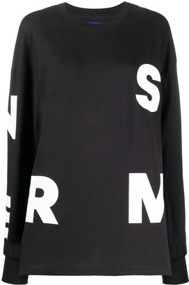 Simon Miller alphabet print sweatshirt