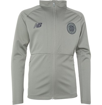 New Balance CFC Celtic Elite Training Travel Knitted Jacket Pale Green/Charcoal