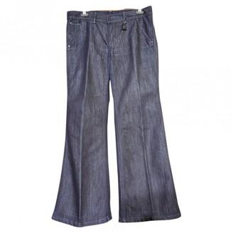 Polo Ralph Lauren Blue Cotton Jeans for Women