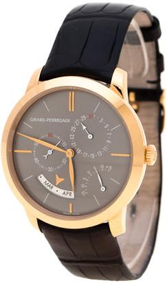 Girard Perregaux Girard Perragaux Grey 18K Rose Gold 1966 Equation Of Time 49588 Men's Wristwatch 40 mm
