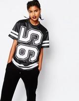 Reebok T-Shirt With Varisty Number Print