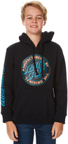Santa Cruz Kids Boys Original Dot Pop Hood Black