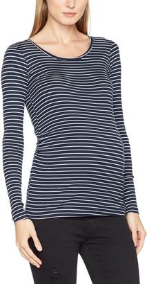 Mama Licious Mamalicious Women's Mlmind L/s Jersey Rib Top Long Sleeve