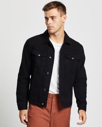 Aere Organic Twill Trucker Jacket