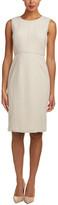 Lafayette 148 New York Vienna Wool-Blend Sheath Dress