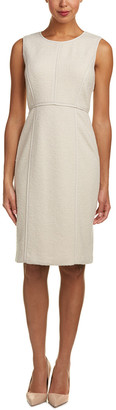 Lafayette 148 New York Vienna Wool-Blend Sheath Dress