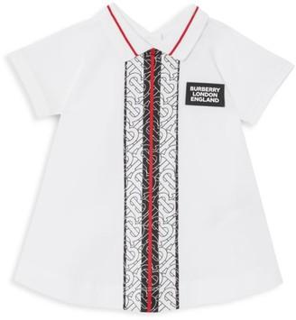 Burberry Baby Girl's Violet 2-Piece Monogram Dress & Bloomers Set