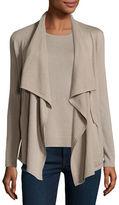 Neiman Marcus Cashmere Zip-Front Cardigan