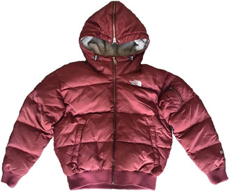 The North Face Burgundy Synthetic Jackets