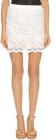 Loyd/Ford Lace Miniskirt