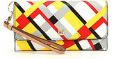 Kate Landry Cabana Plaid Day Out Clutch Wallet