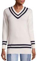 Frame Wool & Cashmere Varsity Sweater