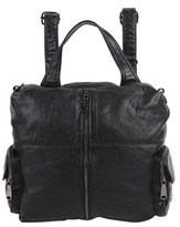 Christopher Kon Convertible Backpack With Zipper Pouches.