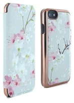 Ted Baker Brook Iphone 6/6S/7 Mirror Folio Case - Pink
