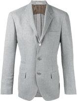 Brunello Cucinelli three-button blazer - men - Silk/Linen/Flax/Cupro/Wool - 54