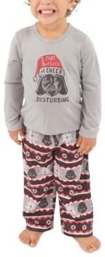 Munki Munki Matching Toddler Holiday Darth Vader Family Pajama Set