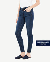 Ann Taylor Petite Modern All Day Skinny Jeans in Mariner Wash