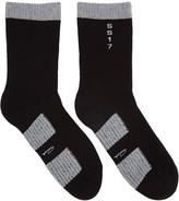 Rick Owens Black Walrus Socks