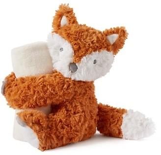 Elegant Baby Fox Naptime Huggie Toy