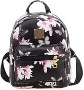 SODIAL(R) Women's Leisure Campus wind Printing backpack