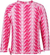 Snapper Rock Feather Long Sleeve Rashguard