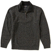 Pendleton Shetland Wool Half-Zip Pullover