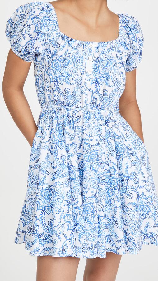 Caroline Constas Bardot Mini Dress