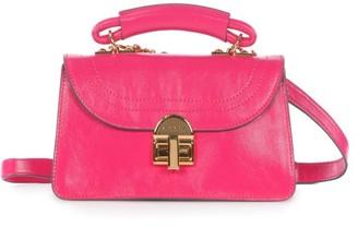 Marni Juliette Top-handle Leather Cross-body Bag - Pink