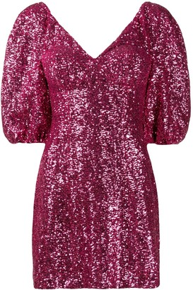 Silvia Astore Embellished Mini Dress